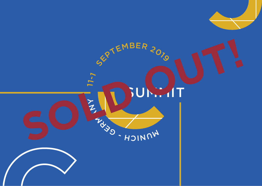 The C Summit 2019 is sold out!