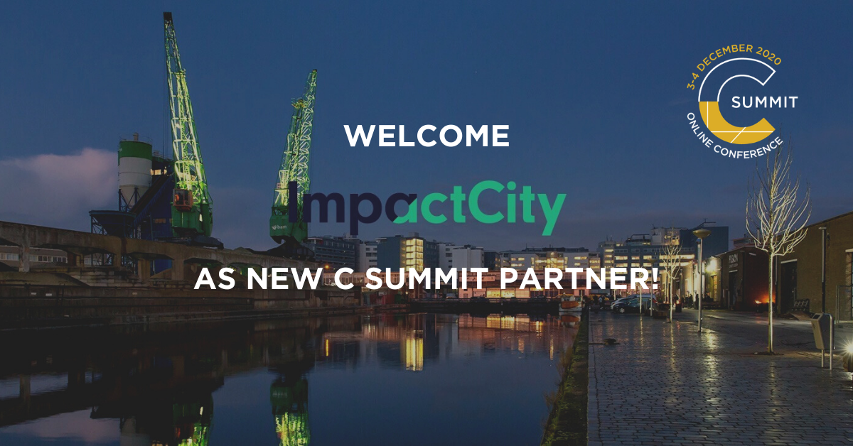 ImpactCity becomes a partner of the C Summit